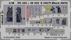 F-16C/N ブロック 30/32 接着剤塗布済 1/48