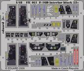 F-16D block 52+ interiér S.A. 1/48