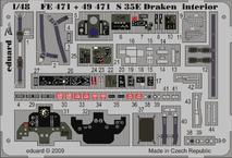 S 35E Draken interior S.A. 1/48