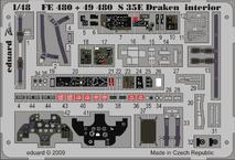 RF-35 Draken интерьер S.A. 1/48
