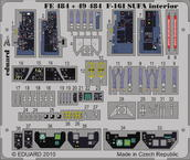 F-16I SUFA interior S.A. 1/48
