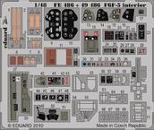 F6F-5 interiér S.A. 1/48