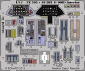 F-100D интерьер S.A. 1/48