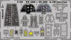 A-7D интерьер S.A. 1/48