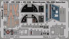 Hurricane Mk.IID interior S.A. 1/48