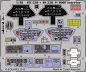 F-100F interior S.A. 1/48