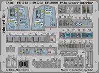 EF-2000 dvoumístný interiér 1/48