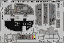 Su-24M Fencer D interior S.A. 1/48