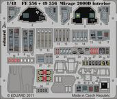 Mirage 2000D интерьер S.A. 1/48