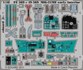 MiG-21MF early interior S.A.  Weekend 1/48