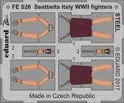 Seatbelts Italy WWII fighters STEEL 1/48
