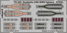 Seatbelts USN WWII fighters STEEL 1/48