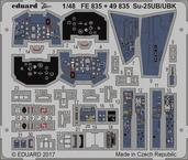 Su-25UB/UBK interiér 1/48