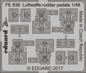 Luftwaffe pedály řízení 1/48