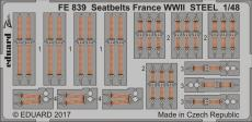 Seatbelts France WWII STEEL 1/48