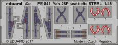 Yak-28P upínací pásy OCEL 1/48