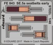 SE.5a seatbelts early STEEL 1/48