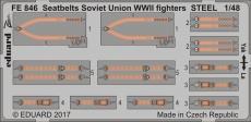 Стальные ремни для советских истребителей Второй Мировой 1/48