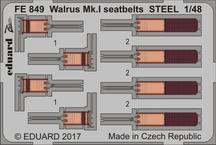 Walrus Mk.I стальные ремни 1/48