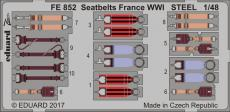 Seatbelts France WWI STEEL 1/48