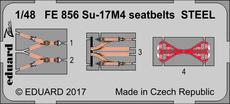 Su-17M4 seatbelts STEEL 1/48