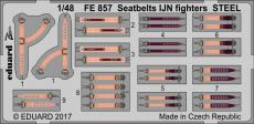 Seatbelts IJN fighters STEEL 1/48