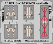 Su-17/22UM3K upínací pásy OCEL 1/48