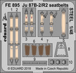 Ju 87B-2/R2 seatbelts STEEL 1/48
