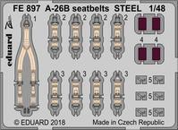 A-26B シートベルト スチール 1/48