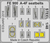 A-4F seatbelts STEEL 1/48