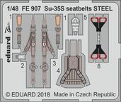 Су-35С стальные ремни 1/48