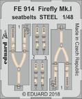Firefly Mk.I upínací pásy OCEL 1/48