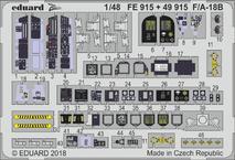 F/A-18B interiér 1/48