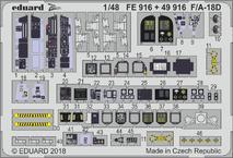 F/A-18D interiér 1/48