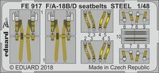 F/A-18B/D upínací pásy OCEL 1/48