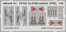 Su-27UB seatbelts STEEL 1/48