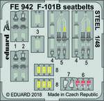 F-101B シートベルト スチール製 1/48