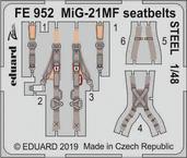 МиГ-21МФ стальные ремни 1/48