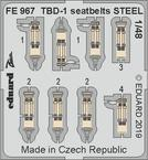 TBD-1 seatbelts STEEL 1/48