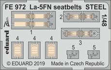 La-5FN seatbelts STEEL 1/48