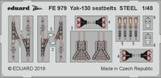 Yak-130 seatbelts STEEL 1/48