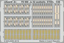 Ju 52 seatbelts STEEL 1/48