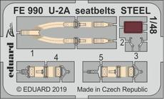 U-2A seatbelts STEEL 1/48