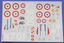 Франция 2 мир. в. опознавательные и бортовые знаки; H75/MS-406 1/48