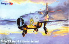 Yak-23 World Altitude Record 1/72