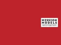 Barva Mission Models - červená 30ml