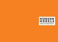 Краска Mission Models - оранжевая 30 мл