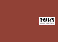 Краска Mission Models - красно-коричневая, Rotbraun RAL 8017 30 мл