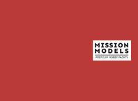 Краска Mission Models - Красный Оксид, Red Oxide Германия Вторая Мировая RAL 3009 30 мл