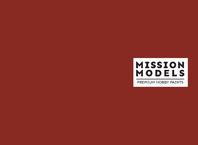 Краска Mission Models - красно-коричневая, Rotbraun RAL 8012 30 мл